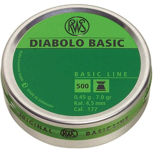 RWS Diabolo .177 Pellets, 500 Count