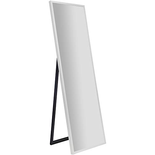 Framed White Floor, Full Length Floor Mirror Canada