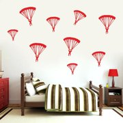 Sweetums Signatures Set of Paratroopers Wall Decal