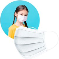 ArtNaturals Disposable Kids Face Mask - 3 Layer Earloop Masks - Mouth Cover Ideal for Everyday Use (1 x 50 Units)