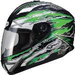 Gmax g178227 tc-3 gm78 full face helmet firestarter black...