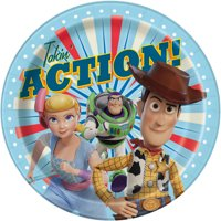 AR Interactive Toy Story Paper Dinner Plates, 9in, 24ct