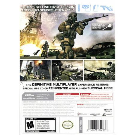 Call of Duty: Modern Warfare 3 (Wii) - Walmart com