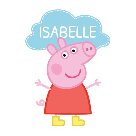 Personalized Peppa Pig Easy-Move Canvas - Peppa Pig Room Decor