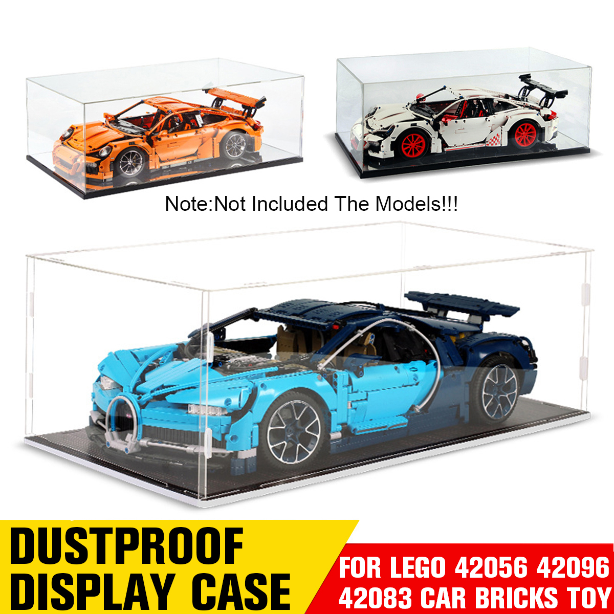 Display King-Premium display case for Lego Porsche 911GT3 RS 42056 100/% rating