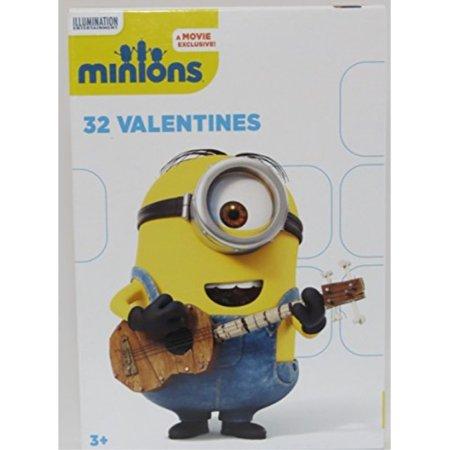 Minions 32 Valentines - Minion Valentine Box