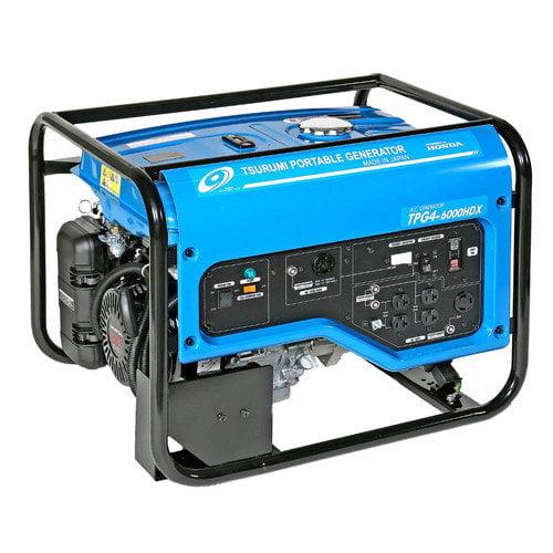 Tsurumi 6,000 Watt Generator with Recoil Start