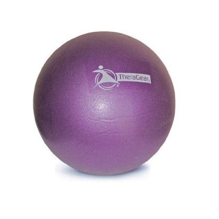 Theragear Pilates Mini Ball, Purple, 9 Inch - 2 Pack