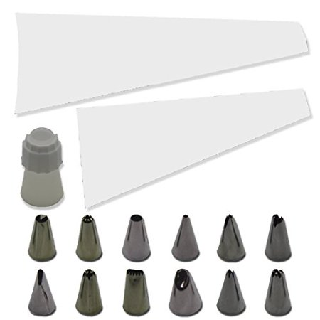 15 Piece Cake and Cupcake Decorating Nozzle Set](Piece Of Cake Discount Code)