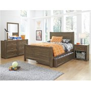 My Home Furnishings Logan- Driftwood 1301-311 3 By 3 Headboard