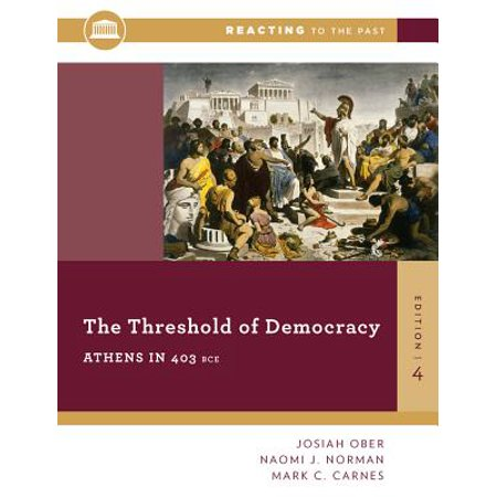 The Threshold of Democracy : Athens in 403 B.C.