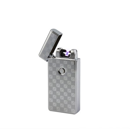 Dual Arc Plasma Lighter USB Rechargeable Flameless  Windproof (Mens Arc)