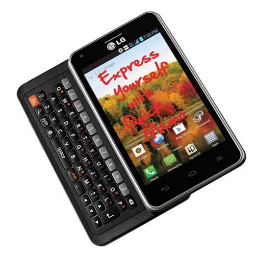 "LG LS860 Mach 4.0"" Touchscreen Dual-Core 1.2GHz 1GB 8GB CDMA Smartphone Android 4.0 - Sprint"
