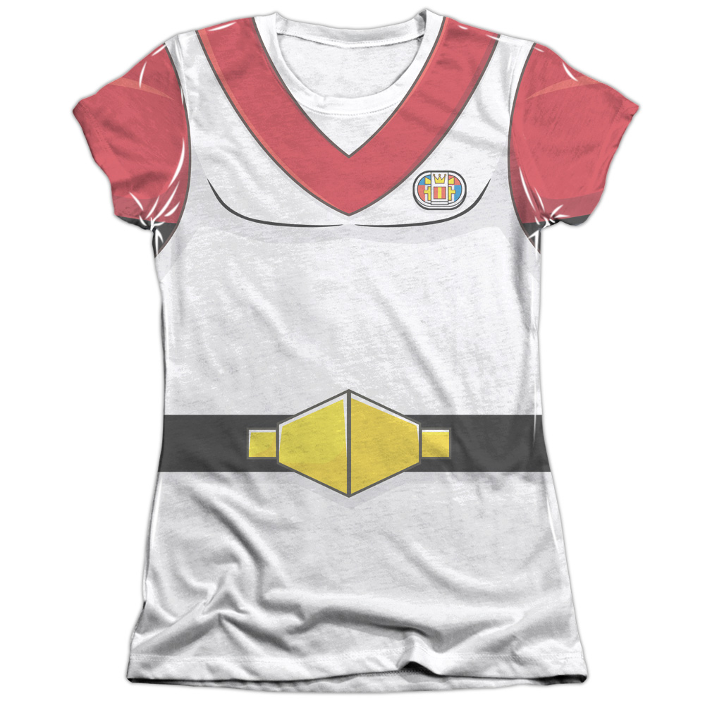 Voltron Keith Costume (Front Back Print) Juniors Sublimation Shirt
