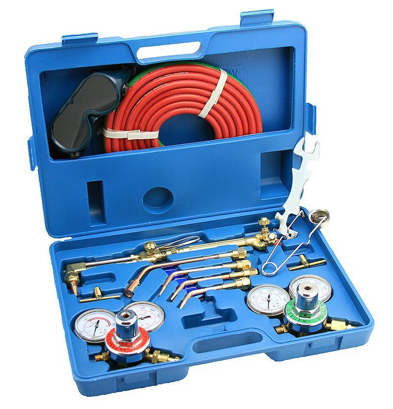 Arksen Gas Welding & Cutting Torch Kit, Professional Set, Victor Type, Carrying Case by ARKSEN