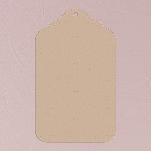 Weddingstar 1279-26 Merchandise Tag Plain - Kraft