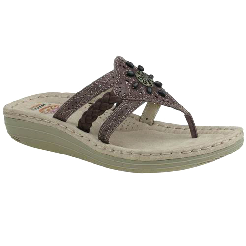 Earth Spirit Women's Aimi Sandal by YELLOW STONE FOOTWEAR INDUSTRIAL CO.,LTD.FUJIAN