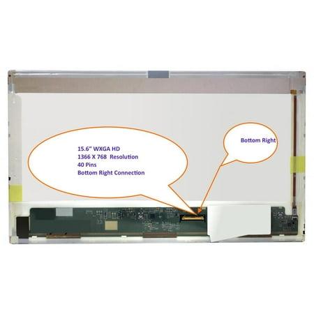 HP Promo 4510s Laptop Screen 15.6 LED BOTTOM RIGHT WXGA HD 1366x768 ()