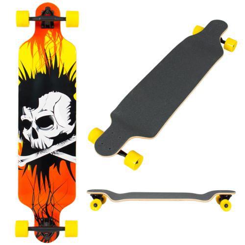 """BCP 41"""" Pro Longboard Cruiser Cruising Skateboard Speed Board Maple Deck Outdoor"""