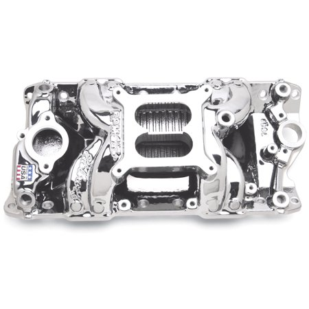 - Edelbrock 75014 RPM Air-Gap Intake Manifold