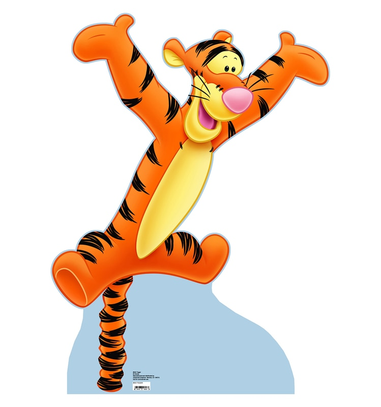 Tigger (Winnie the Pooh) Cardboard Stand-Up, 3ft