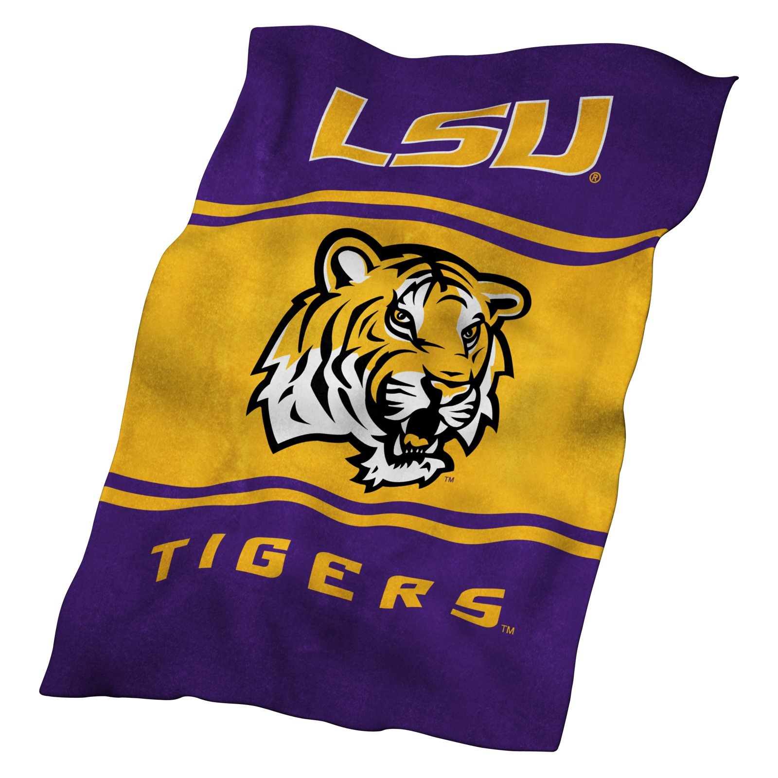 LSU Tigers UltraSoft Blanket