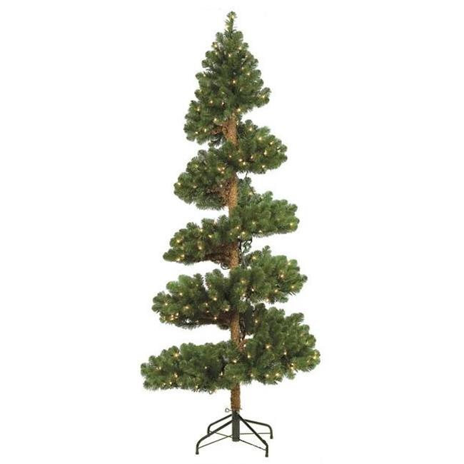 Autograph Foliages C-60240 - 7 Foot Spiral Spruce Tree - Green