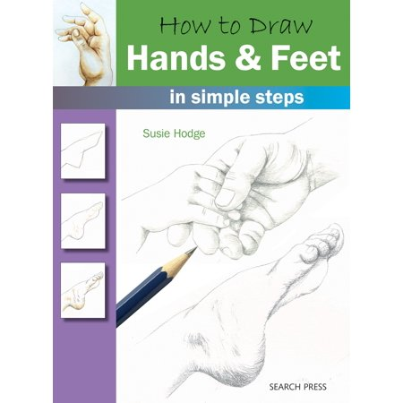 How to Draw: Hands & Feet in Simple Steps - Draw Simple Halloween Skeleton