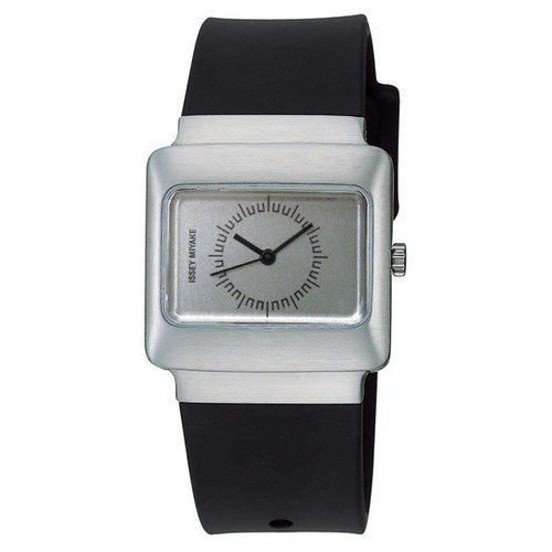 Issey Miyake Vakio Watch with Silver Case and Silver Dial