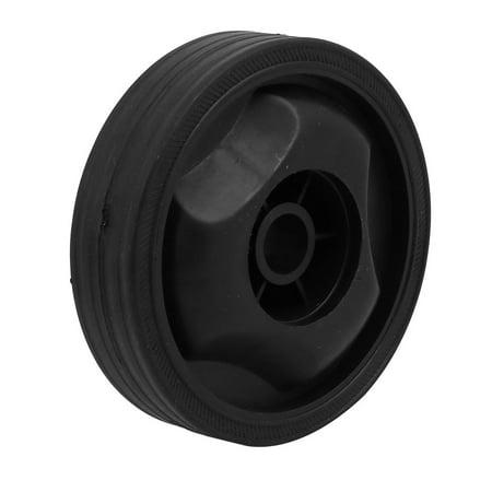 Compressor Part Replacement - Unique Bargains 115mm Dia Plastic Replacement Parts Wheel Black for Air Compressor