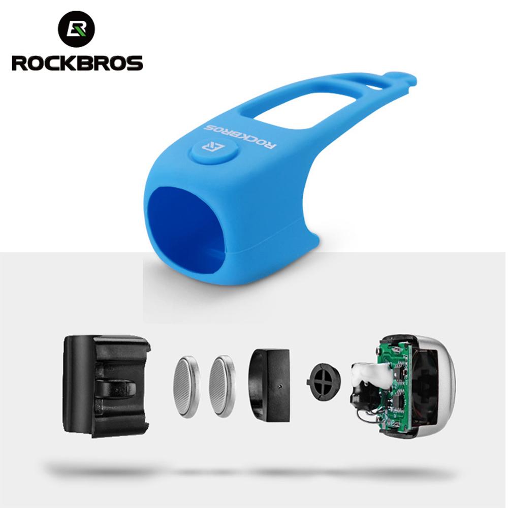 ROCKBROS Electric Bicycle Bell Horns Rainproof Mountain Bike Handlebar Bell IPx4