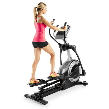 Golds Gym Stride Trainer 550I Elliptical With Adjustable Incline