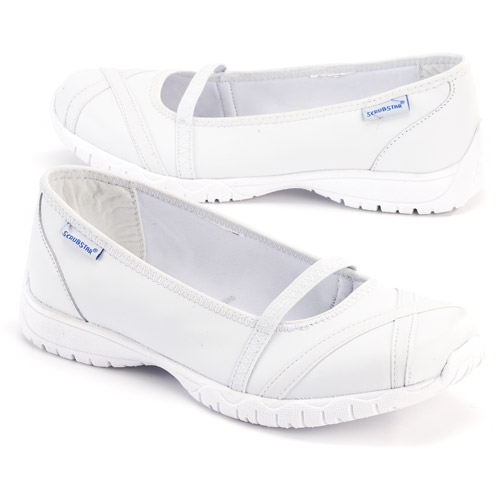 Scrubstar - Women's Elastic Gore Medical Shoes, Wide Width