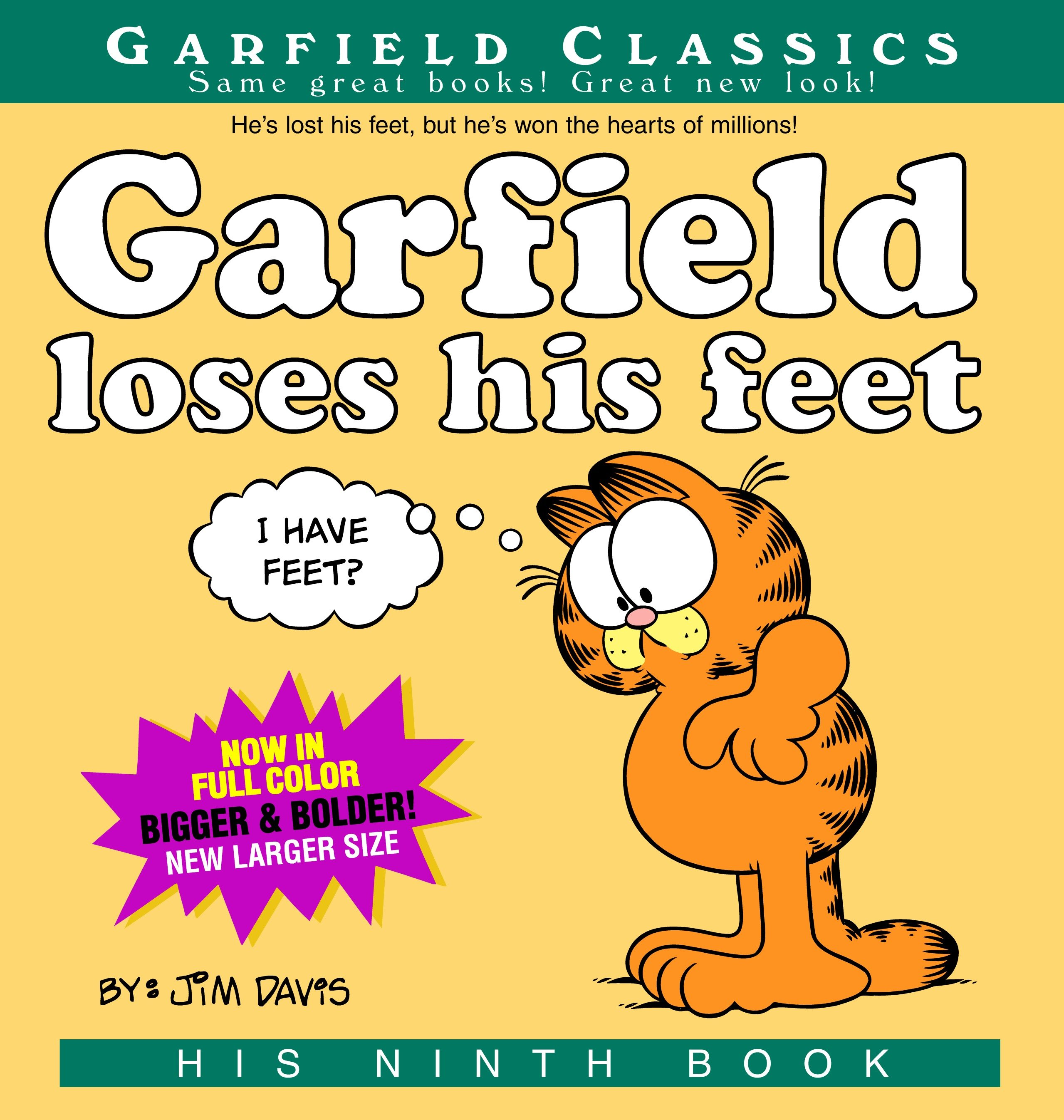 Garfield Loses His Feet : His 9th Book
