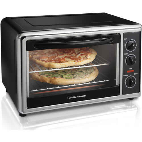 Hamilton Beach Large Capacity Counter Top Oven, Chrome
