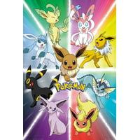 "Pokemon - TV Show / Gaming Poster / Print (Eevee Evolution) (Size: 24"" x 36"")"