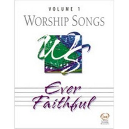Lorenz Corporation 765762034020 Worship Songs Volume ume 1 - Ever Faithful - Split-track