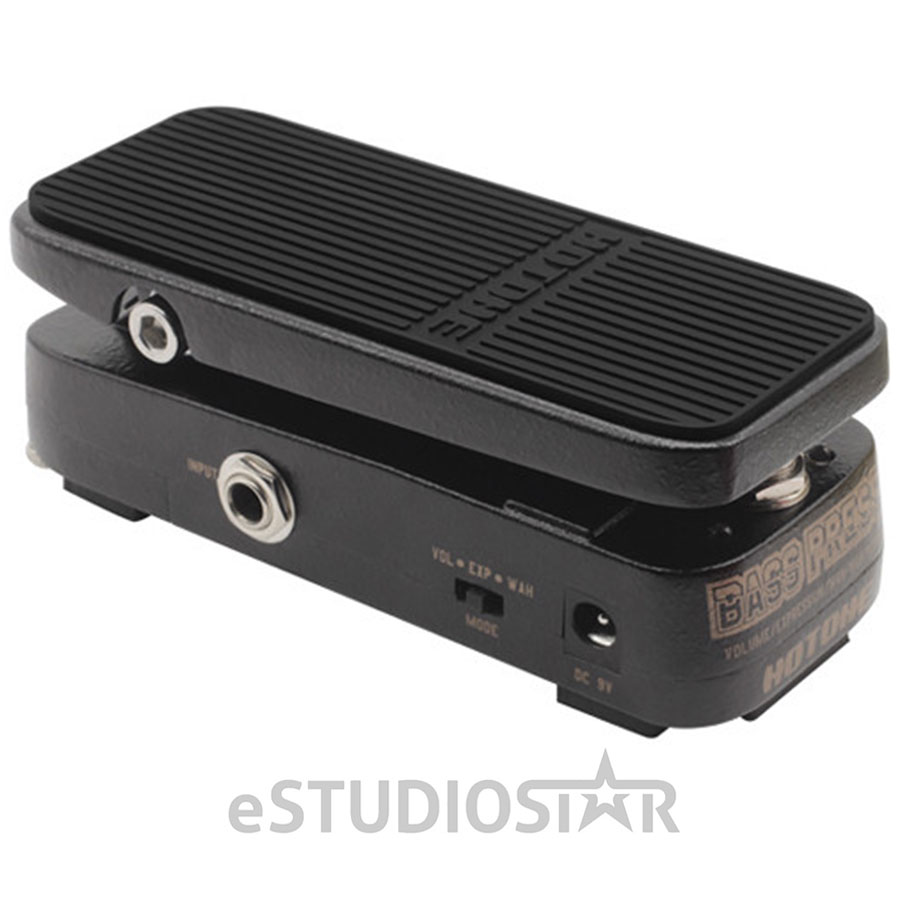 Hotone Bass Press Volume Expression Wah-Wah Pedal by Hotone
