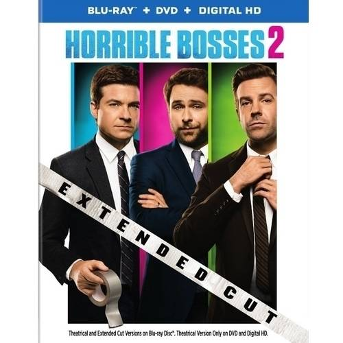 Horrible Bosses 2 (Extended Edition) (Blu-ray   DVD   Digital HD) (With INSTAWATCH)