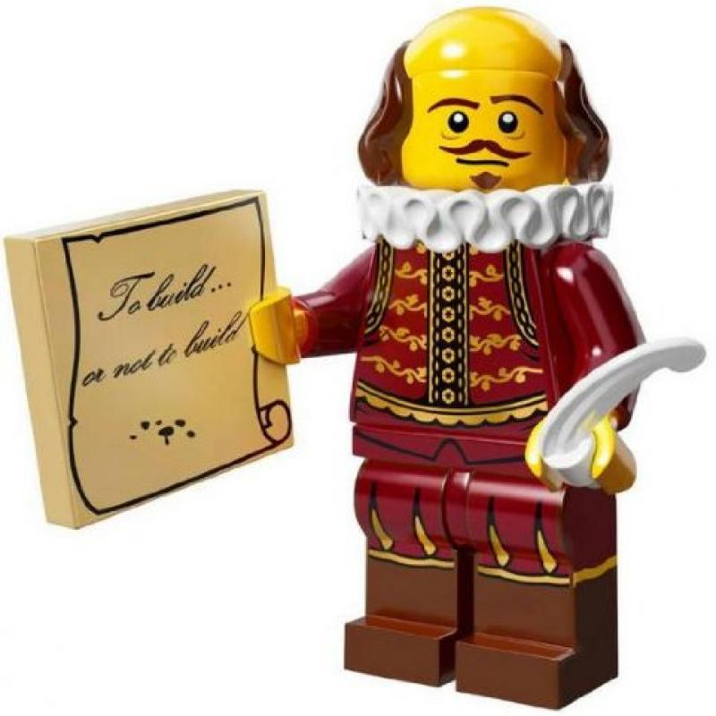 Lego Minifigure Collection LEGO Movie Series William Shak...