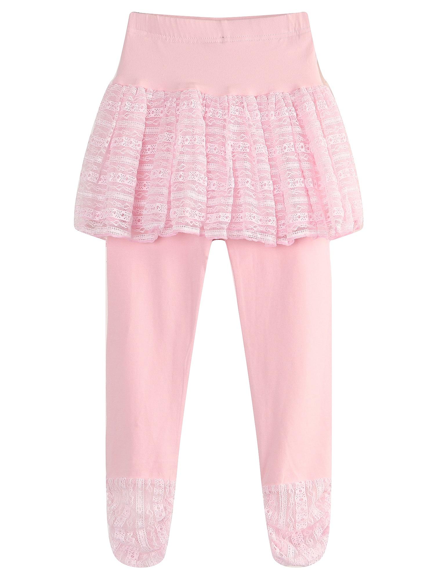 Richie House Girls' Leggings with Mesh Skirts RH1514