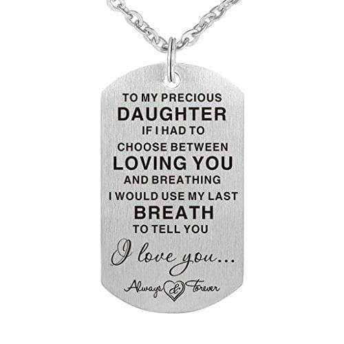 Precious Daughter Gift Necklace
