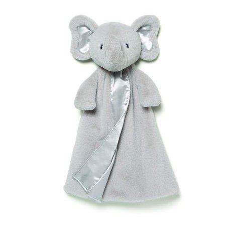 Baby Bubbles Elephant Huggybuddy Blanket, Gray, 17