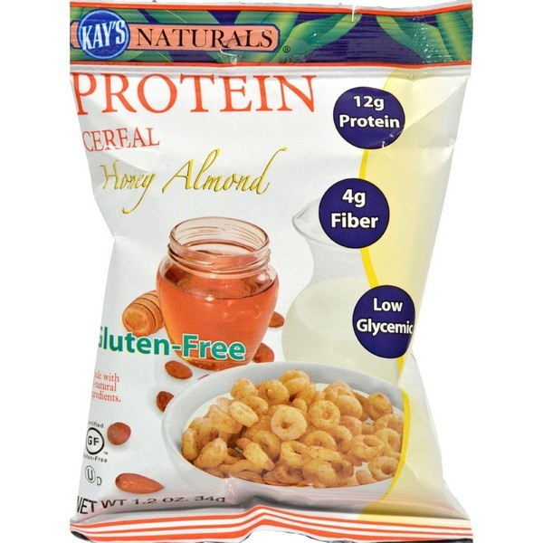 Kay's Naturals Protein Cereal Honey Almond - 1.2 Oz - Pack of 6