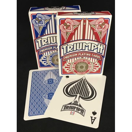 TRIUMPH PREMIUM POKER PLAYING - Led Playing Cards
