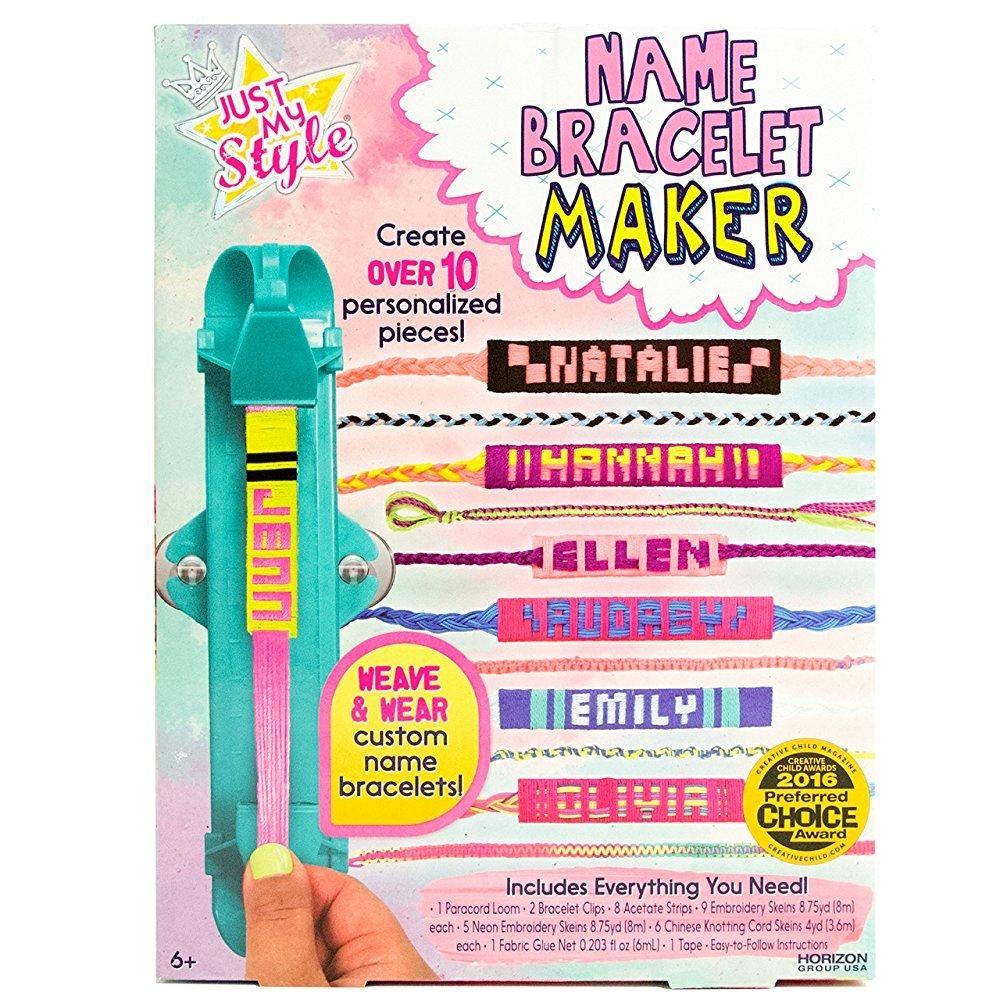 Just My Style Name Bracelet Maker