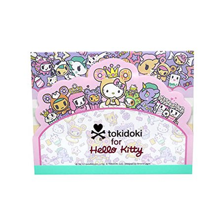 Tokidoki x Hello Kitty Kawaii Fabulous Note/Memo Pad Donutella Sprinkle Kingdom (Pastel Pink - Kawaii Stationery
