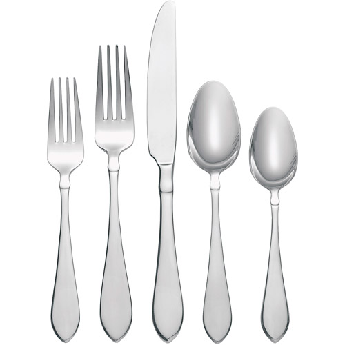 Oneida 20-Piece Vertex Flatware Set Service for 4