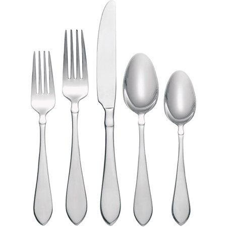 Oneida 20 Piece Vertex Flatware Set Service For 4