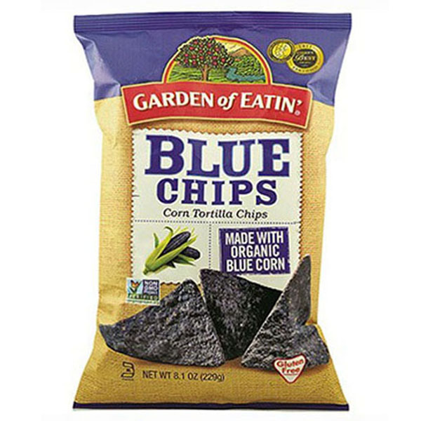 Garden of Eatin' Blue Corn Tortilla Chips 9 oz Bags - Pac...